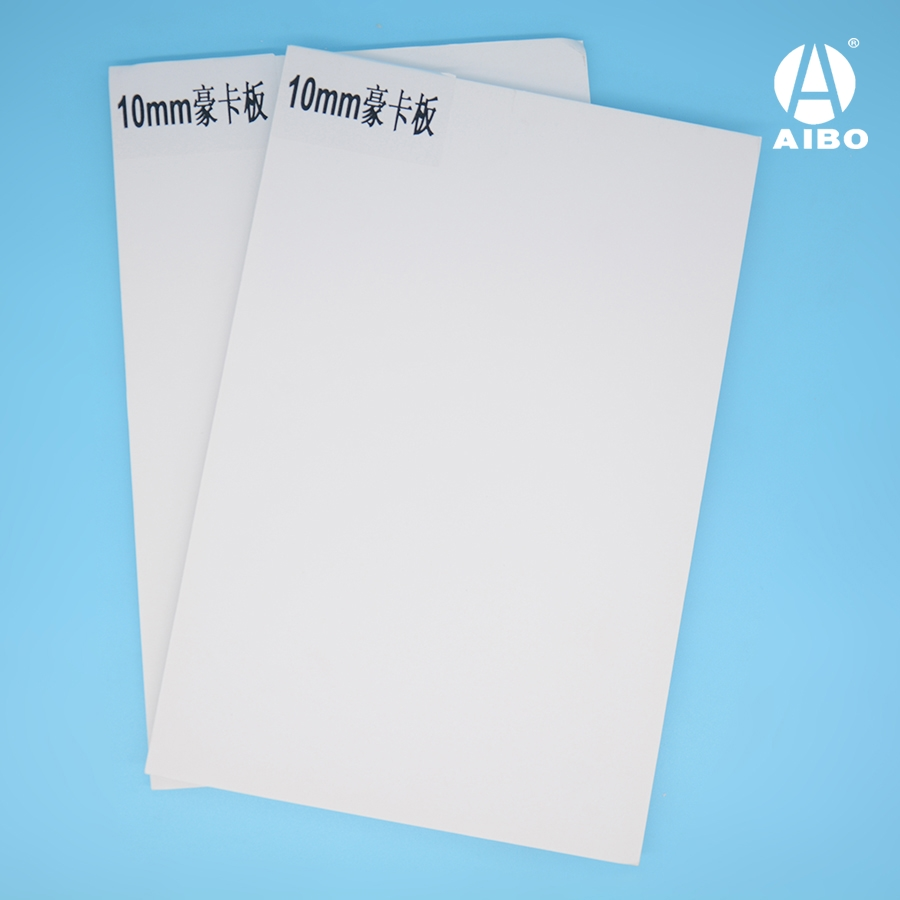 10mm white foam board with card paper facers