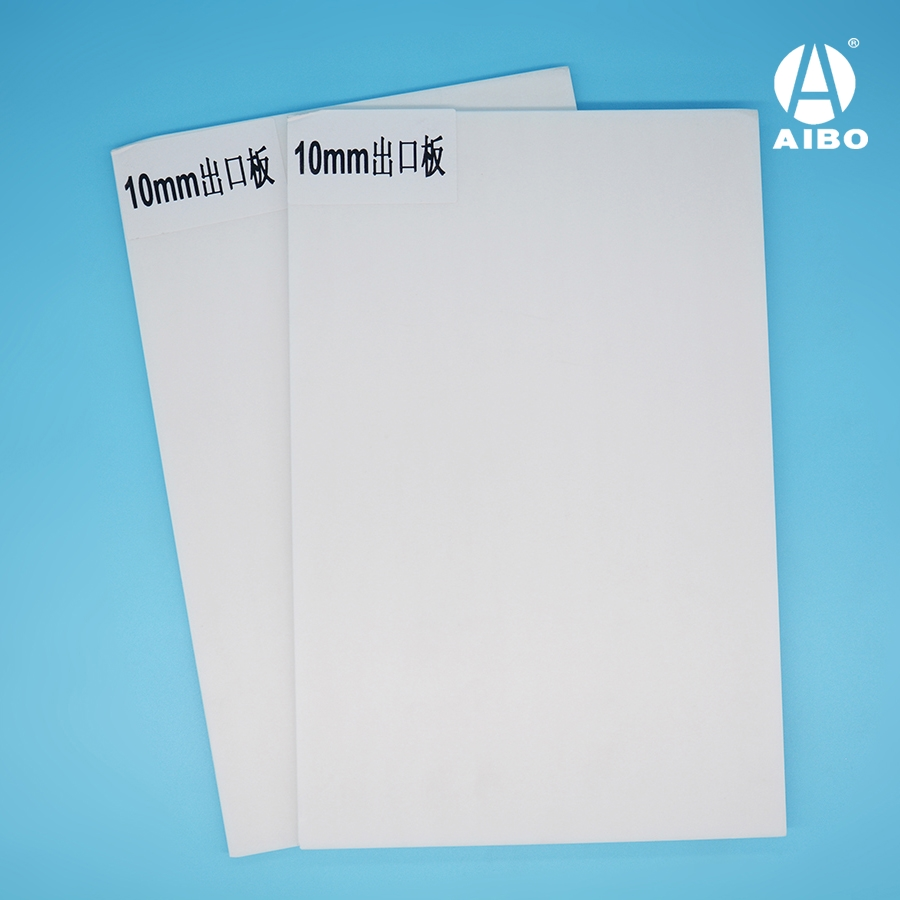 White 48 x 96 Foam Board 3/16 for Mexico makert