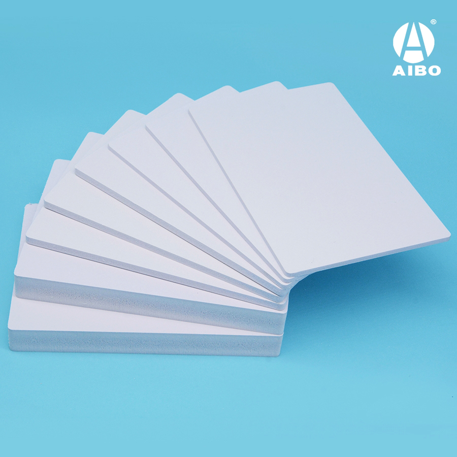 15mmWhite hard pvc rigid sheet outdoor advertising 4x8ft pvc foam board