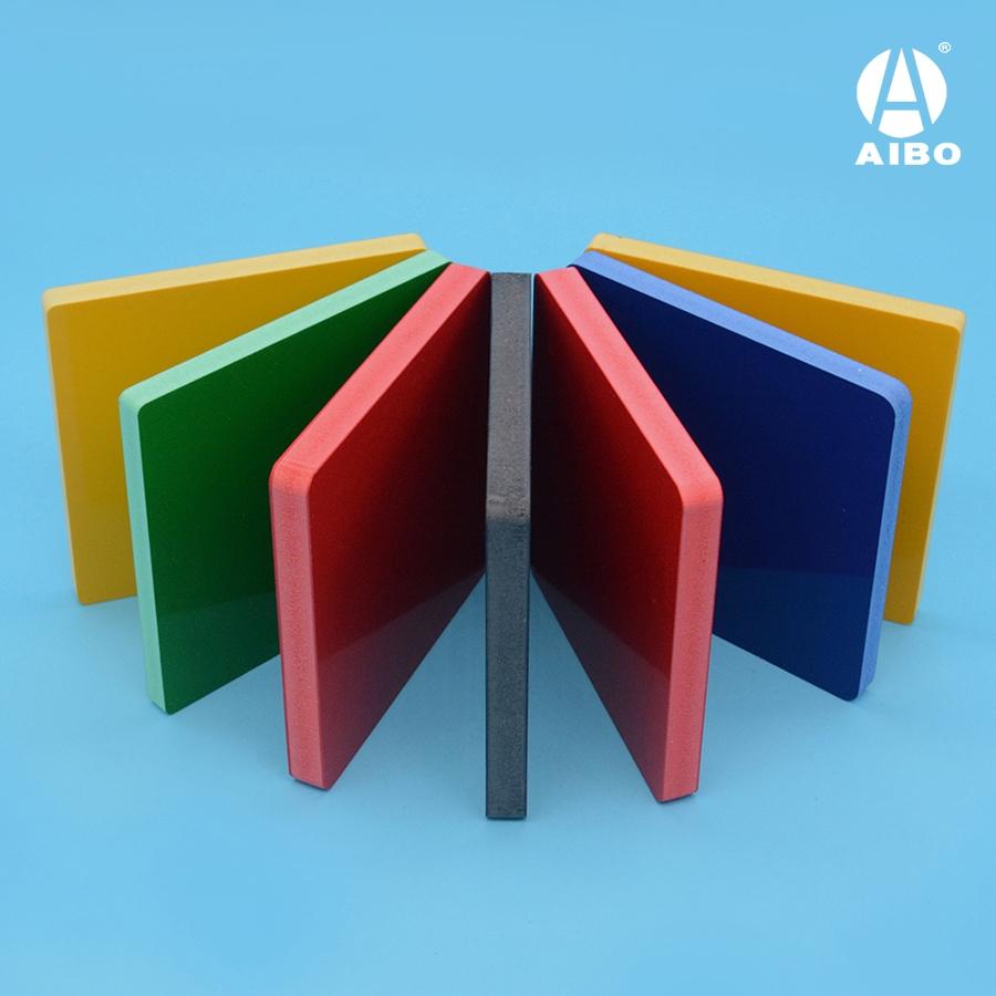color plastic pvc foam board sheet