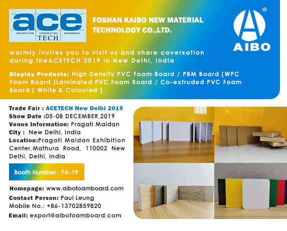 Trade Show News in December 2019-ACEtech New Delhi 2019
