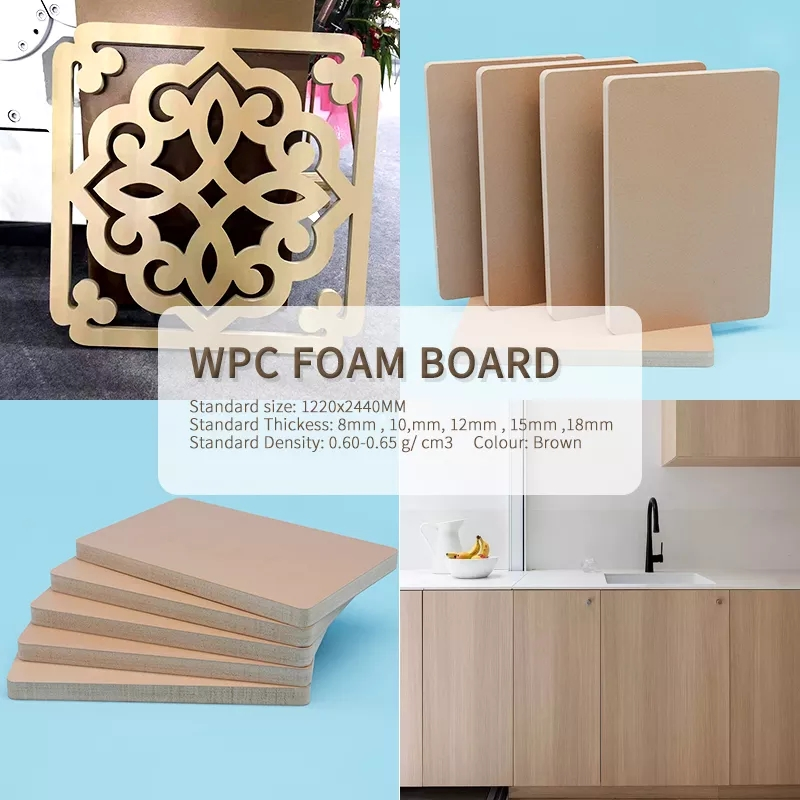 WPC and WPC foam board