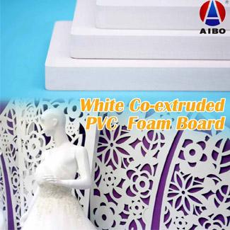 White Co-extruded PVC Foam Board