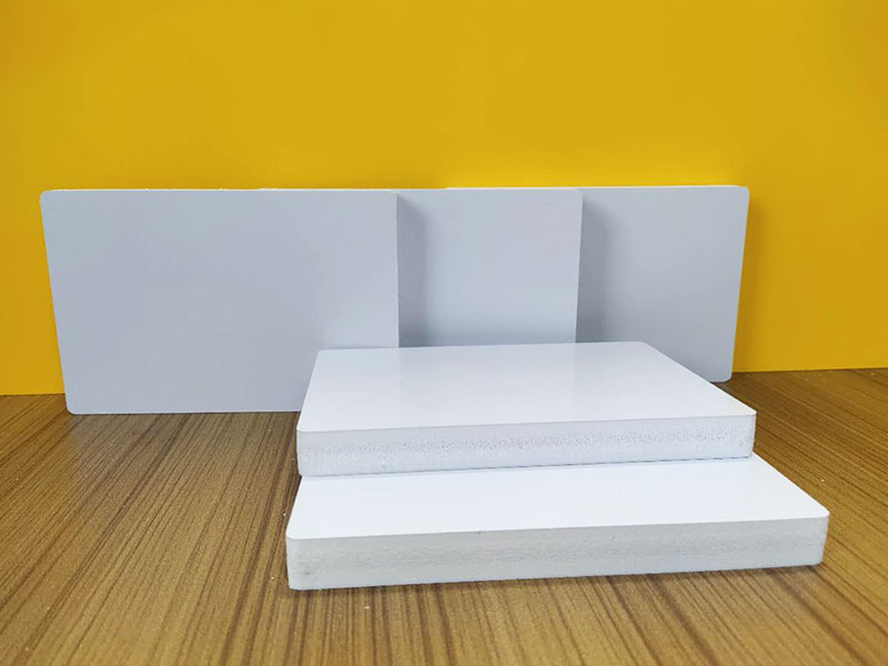 Eco-friendly colorful pvc foam sheet