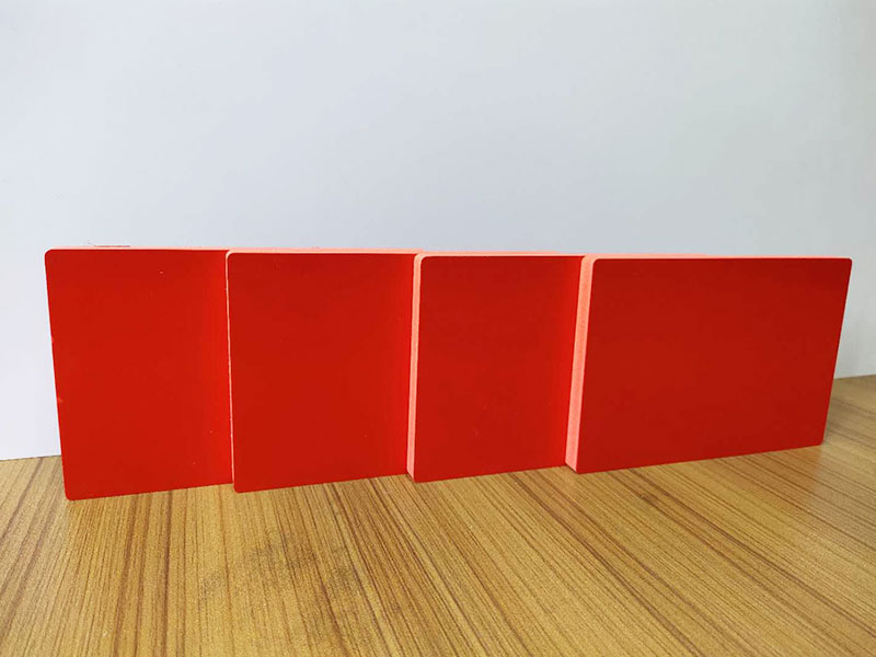 High quality white/colored 4x8 pvc foam sheet sintra board for sign