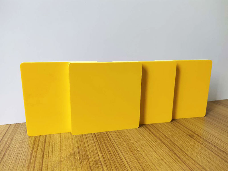 colored Foamed PVC Sheet with gloss finish