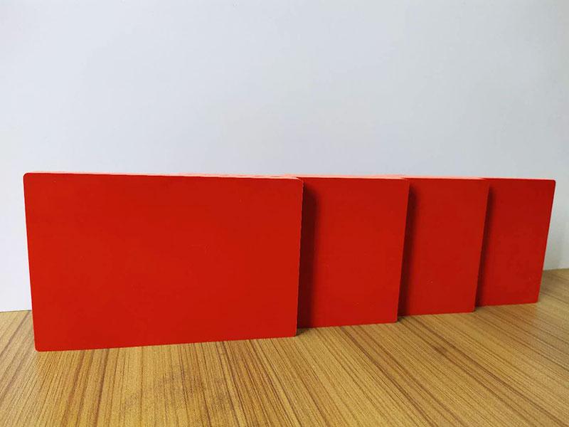 1220×2440 mm solid coloured foam board