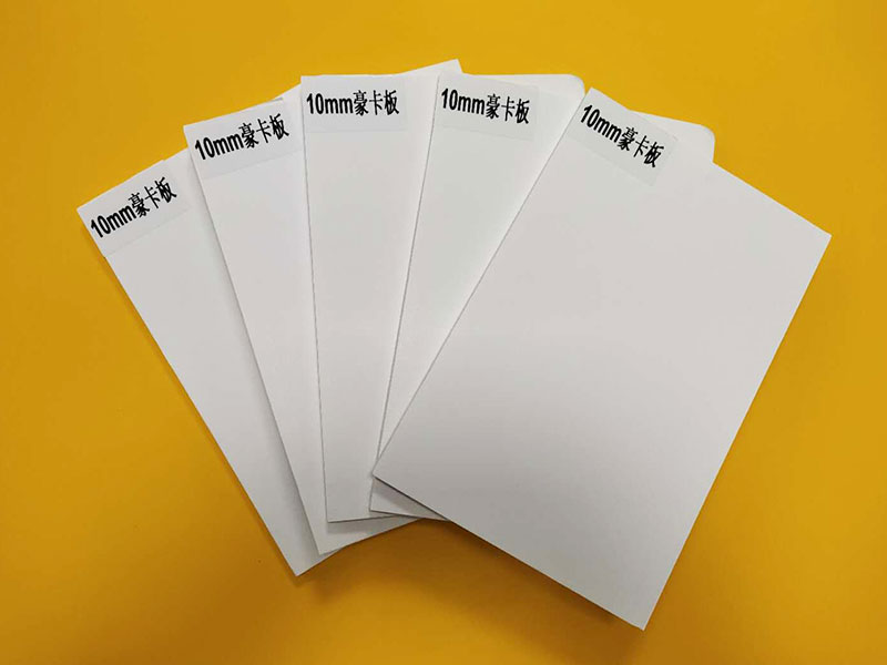 10mm polystyrene foam with clay-coated paper facers