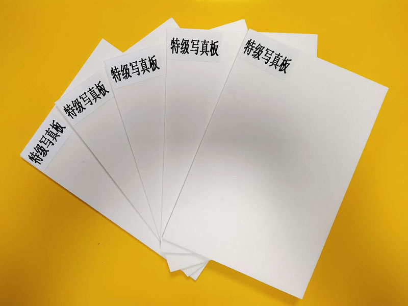UV direct printed foam board for UV flatbed printers
