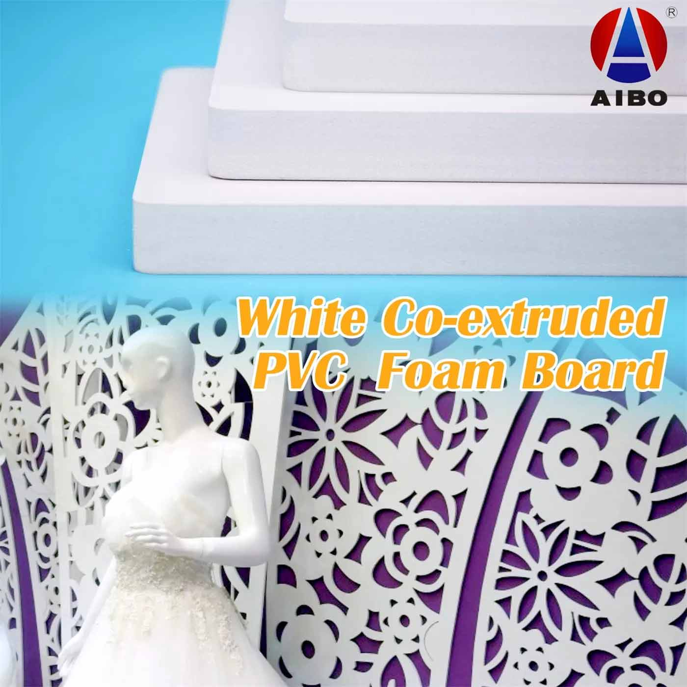 White Co-extruded  PVC  Foam Board